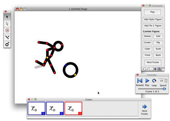 Скриншот программы stykz
