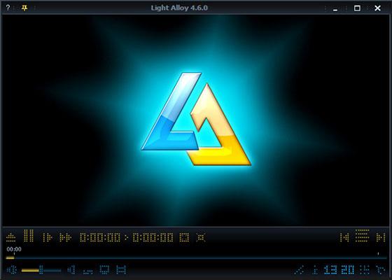 Скриншот программы light alloy 5.1
