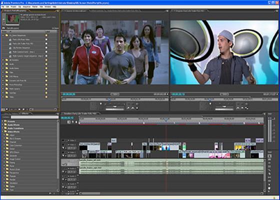 Скриншот программы adobe premiere pro cs6
