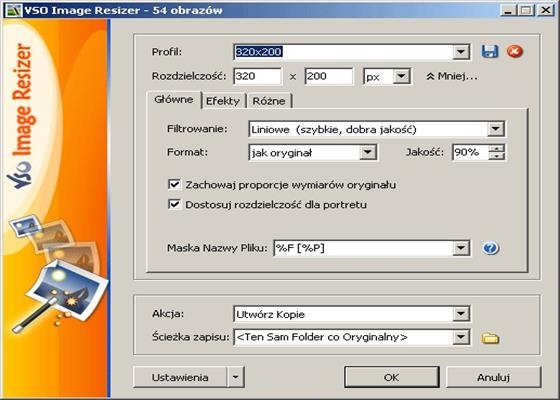 Скриншот программы light image resizer