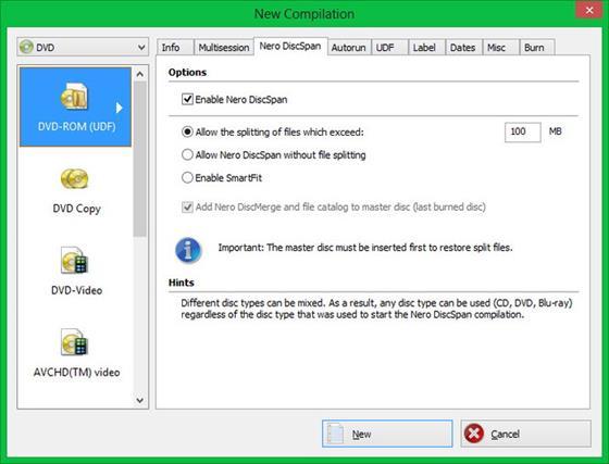Скриншот программы nero image drive