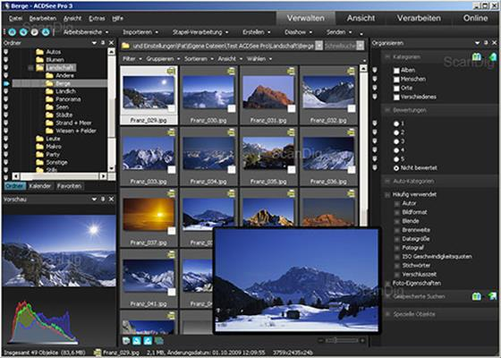 Скриншот программы acdsee для windows 10