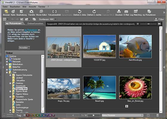 Скриншот программы viewnx