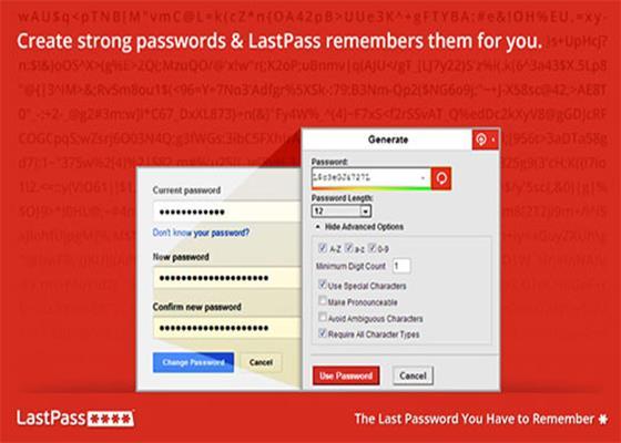 Скриншот программы lastpass