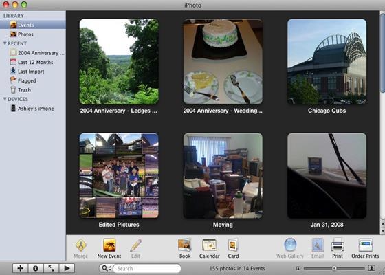 Скриншот программы iphoto
