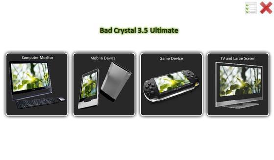Скриншот программы bad crystal