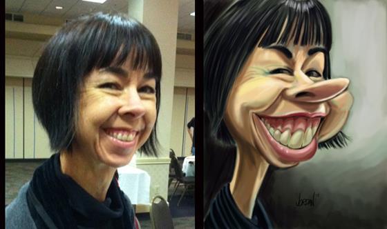 Скриншот программы caricature studio