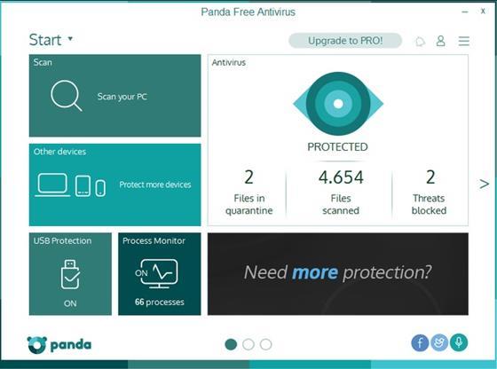 Скриншот программы panda