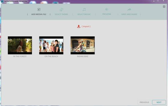 Скриншот программы wondershare filmora