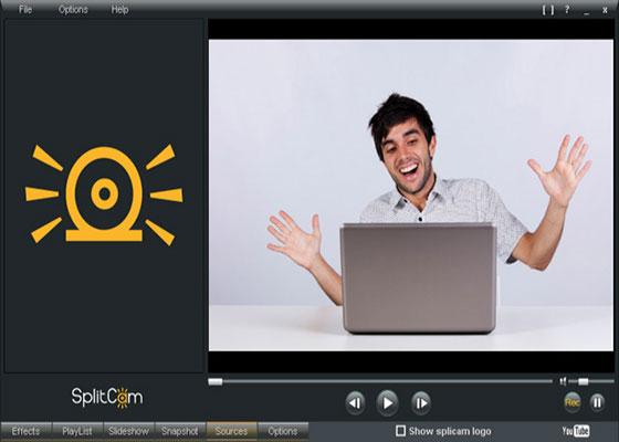 Скриншот программы splitcam