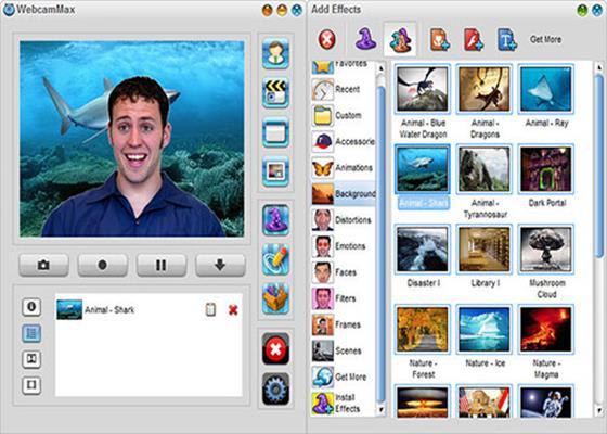 Скриншот программы webcammax для windows 10