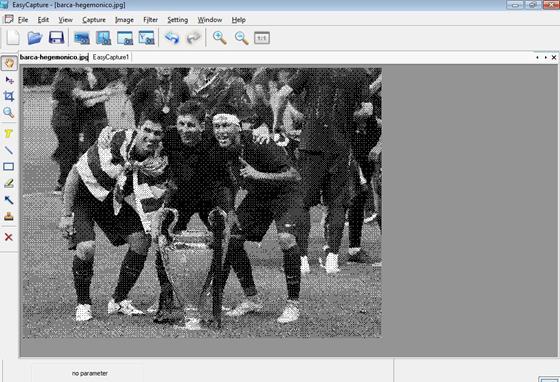 Скриншот программы easycapture