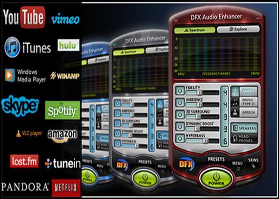 Скриншот программы dfx audio enhancer
