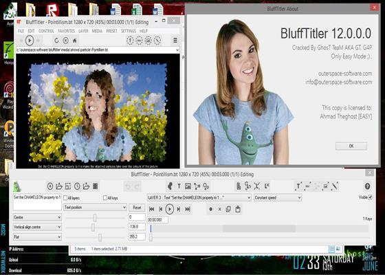 Скриншот программы blufftitler