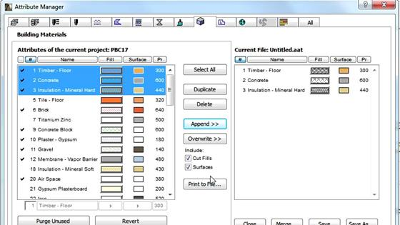 Скриншот программы attribute manager