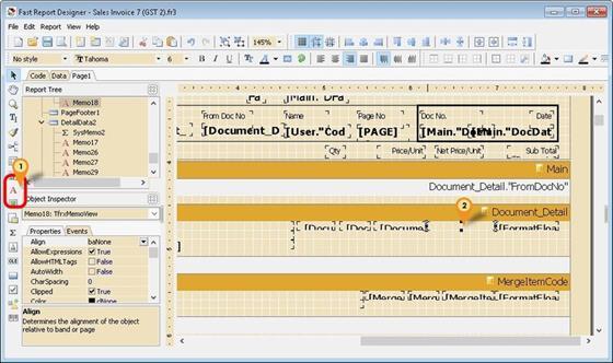 Скриншот программы fastreport