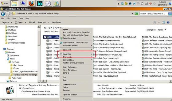 Скриншот программы magiciso