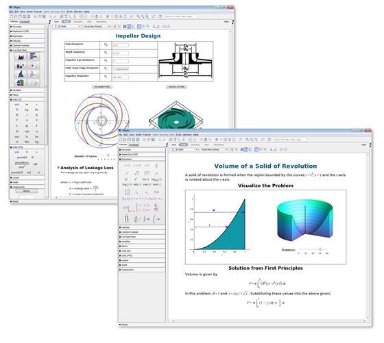 Скриншот программы maple