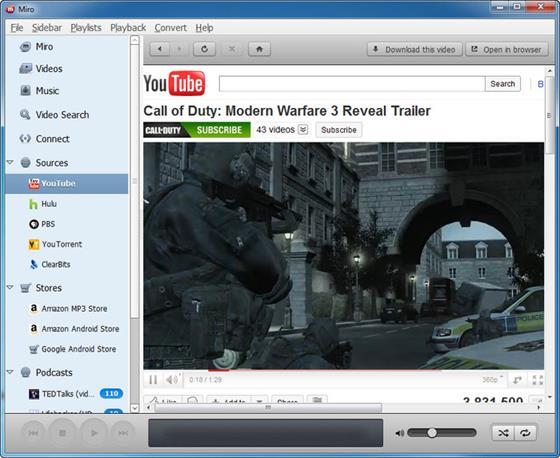Скриншот программы miro