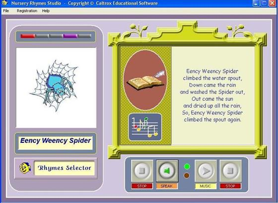 Скриншот программы rhymes