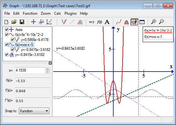 Скриншот программы graph