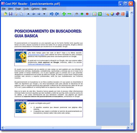 Скриншот программы cool pdf reader