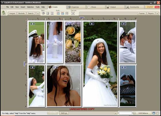 Скриншот программы fotofusion