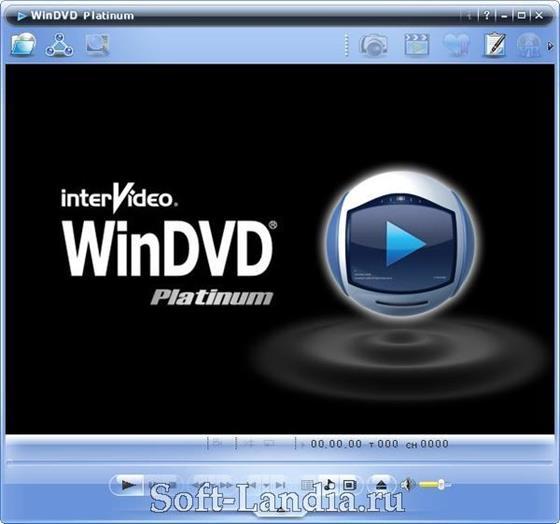 Скриншот программы windvd