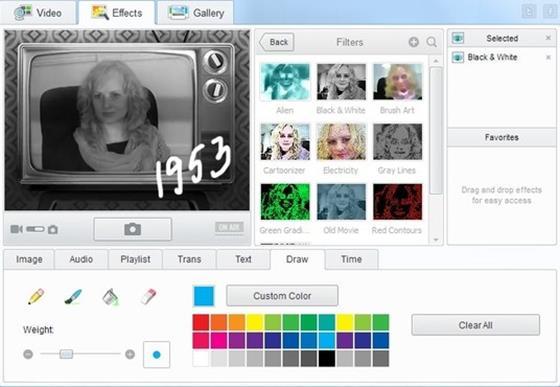 Скриншот программы manycam pro