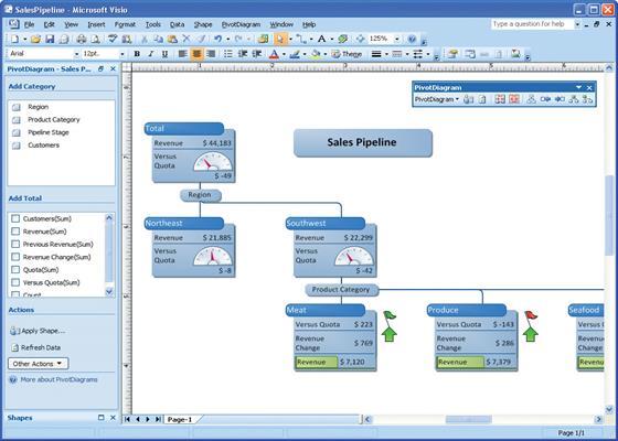Скриншот программы microsoft visio
