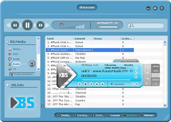Скриншот программы bsplayer