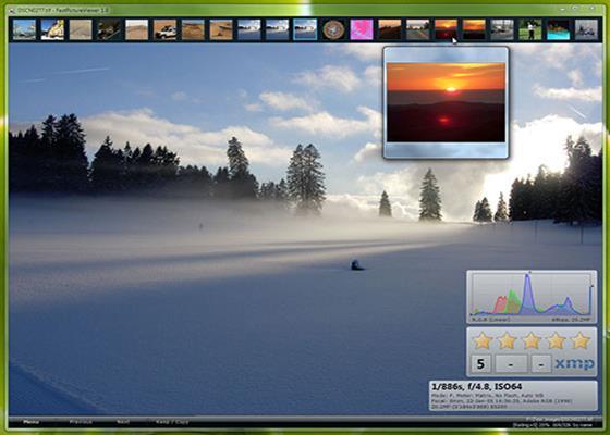 Скриншот программы fastpictureviewer для windows 10