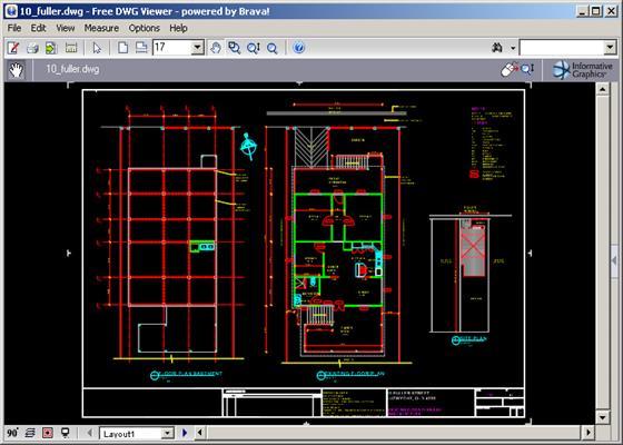 Скриншот программы dwg viewer
