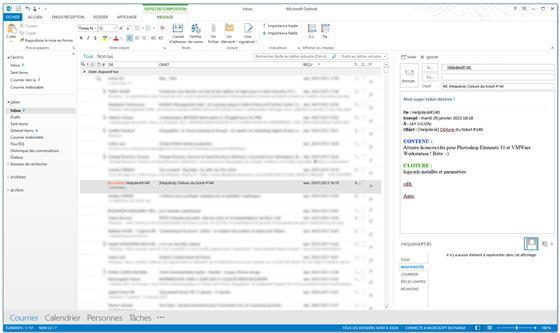 Скриншот программы microsoft outlook