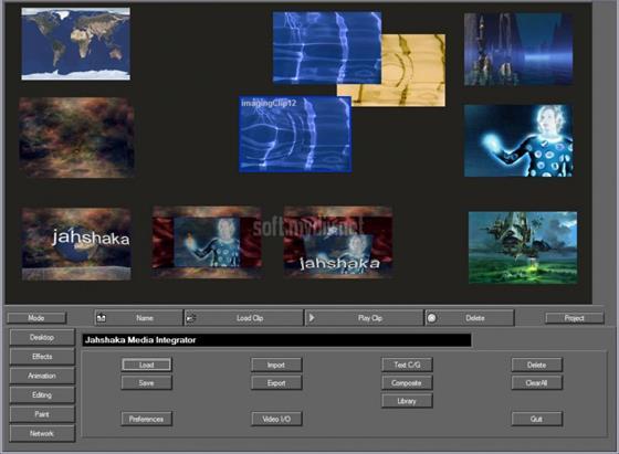 Скриншот программы jahshaka