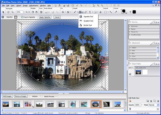 Скриншот программы photo editor