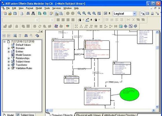 Скриншот программы erwin